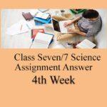 Class Seven Science 4th Week